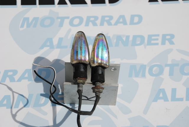 Mini Blinker Chrombedampft 2 St.